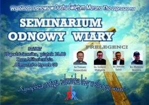 Seminarium Odnowy Wiary @ Rynek 38
