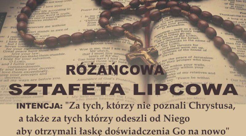 Lipcowa Sztafeta Różańcowa