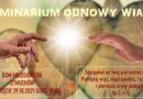 Zaproszenie na Seminarium Odnowy Wiary