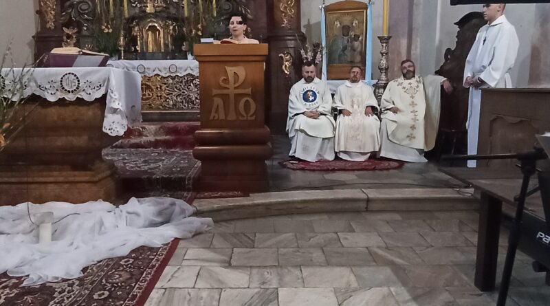 Msza z modlitwą o uzdrowienie w Lubnowie
